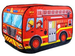 Tent Fire Brigade Fire Fighting Truck 50 balls ZA2057