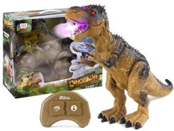 The interactive Dinosaur walks and breathes the smoke of ZA2420
