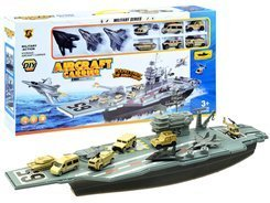 Toy Military set + aircraft ZA2355