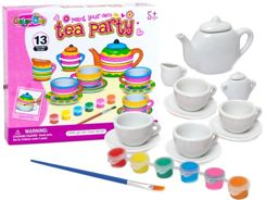 Toy Paint Your own tea party ZA2117