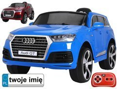 Toy car AUDI Q7 wheels EVA Radio Remote Control Lacquer PA0125 M