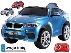 Toy car for the BMW X6 battery new model PA0215M