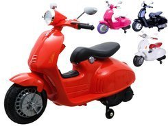 Vespa scooter for driving side wheels PA0139