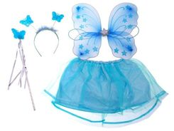 Wings blue for the butterfly fairy ZA1264