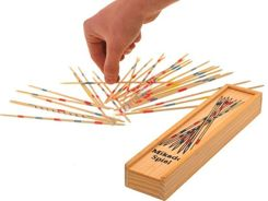 Wooden Mikado pick-up sticks game arcade GR0154