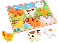 Wooden puzzle Animals puzzle ZA2438