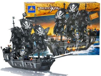 PIRATES OF THE CARIBBEAN SHIP BLOCKS 1184 pcs. ZA0735