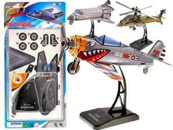 3D Puzzle Airplanes flying machines ZA0333