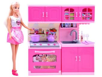 Anlily Doll Housewife in the kitchen kitchen ZA2462