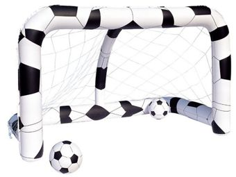 Bestway Inflatable gate to the football 2 x ball 52058