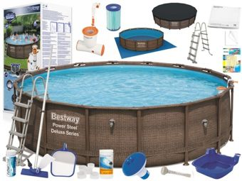 Bestway Pool STELA Deluxe 488x122cm 7in1 56666