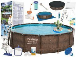 Bestway Swimming pool ROOF rattan 427 x 107cm 56664