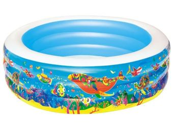 Bestway inflatable pool for children 196 x 53 cm 51122