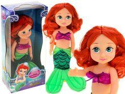 Charming mermaid Ariel doll 30cm with fairy ZA1631