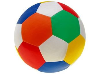 Colored soft light FOOTBALL Wed 21cm ZA1505