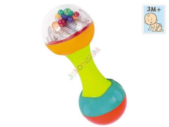 Colorful rattle dumbbell ZA1184