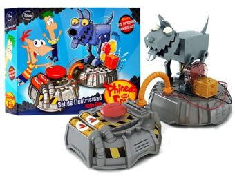 Elektronik Phineas and Ferb kit robot dog ZA1446