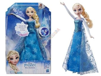 Elsa Doll singing Frozen Ice Land ZA2307