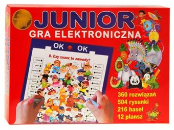 JUNIOR electronic game for a preschooler GR0164
