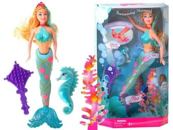 LOVELY MERMAID with moving TAILS ZA0451