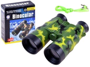 Moro binoculars with compass + Case ZA1623