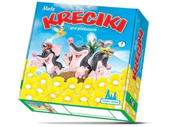 SMALL board game KRECIKI GR0184