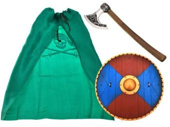 Set for Viking costume + Shield + ax ZA1323