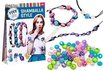 Shamballa Beads Bracelet Set DIY ZA2177