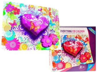 Three-dimensional spatial puzzle heart ZA1351