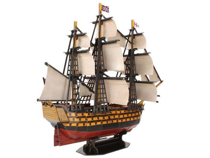 3d Puzzle Ship Hms Victory Ship Sea Za1785 Toys