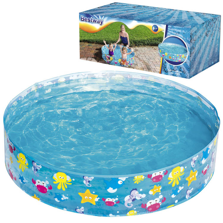 Bestway Paddling Pool Garden 122x25cm 219l 55028 Swimming Pools