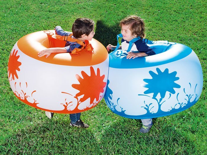 Unusual Outdoor Toys For Boys : Bestway set puffed mini sumo fun toys outdoor