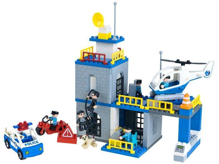Big Boy Toys Police : Big set police station ele za toys