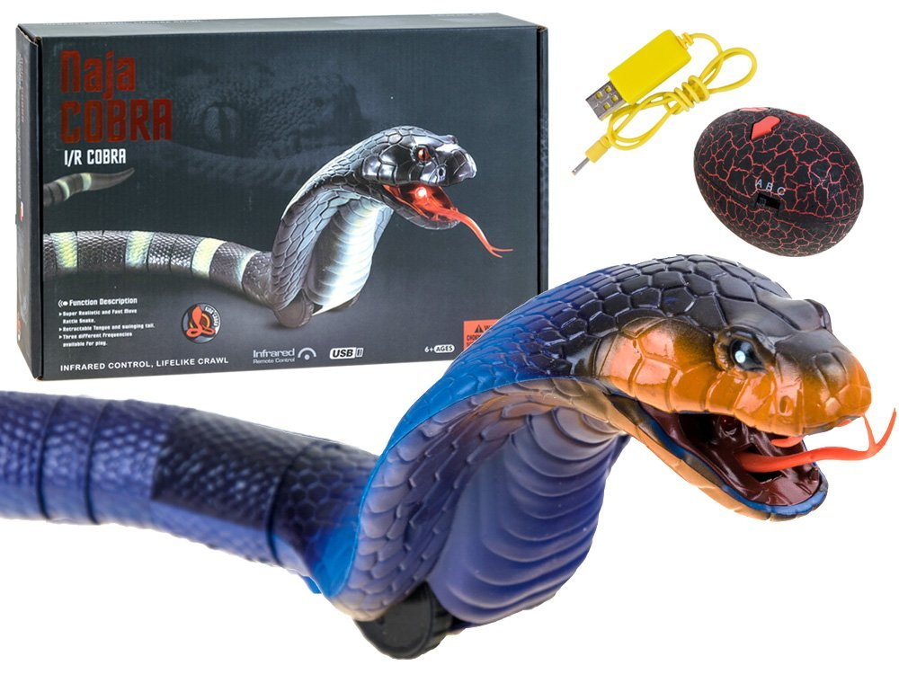 Snake Toys For Boys : Cobra snake remotely controlled to the remote control