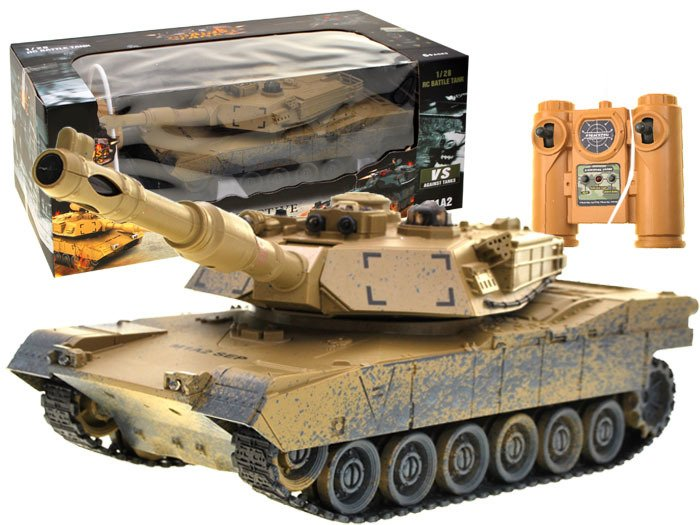1fb8d96e230f63 Controlled TANK M1A2 desert camouflage RC0374 ...