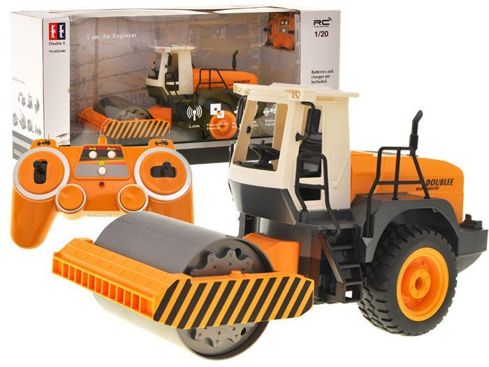 Construction Equipment Toys For Boys : Driven roller construction truck rc toys radio