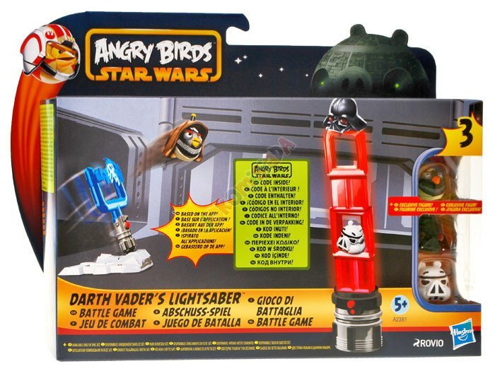Angry Birds Star Wars Toys : Incredible star wars angry birds toys revealed ign