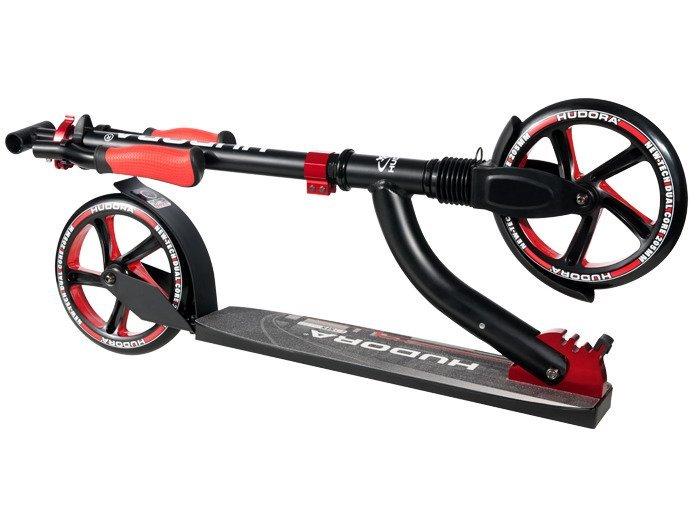hudora big wheel scooter 205 200 14249 flex sport for. Black Bedroom Furniture Sets. Home Design Ideas