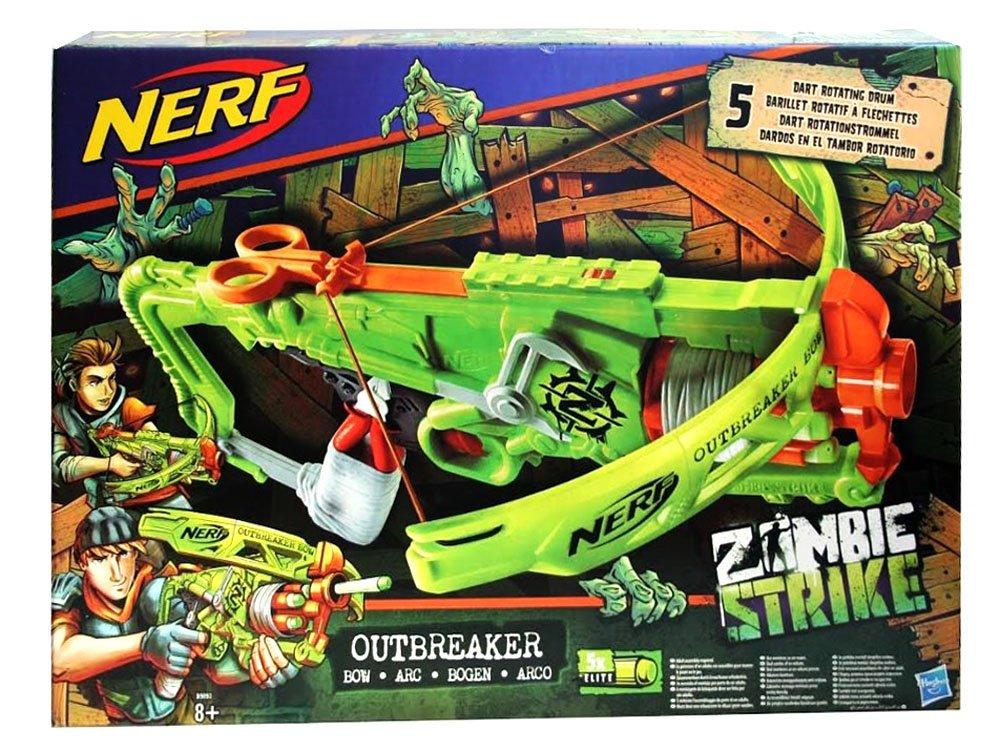 NERF Outbreaker Crossbow revolver Zombie attack ZA3018 | toys \ gun