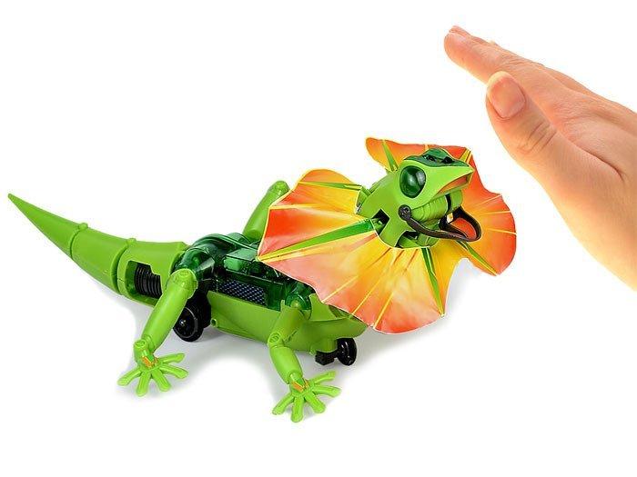 Lizard Toys For Boys : Robot build a lizard za toys scientific