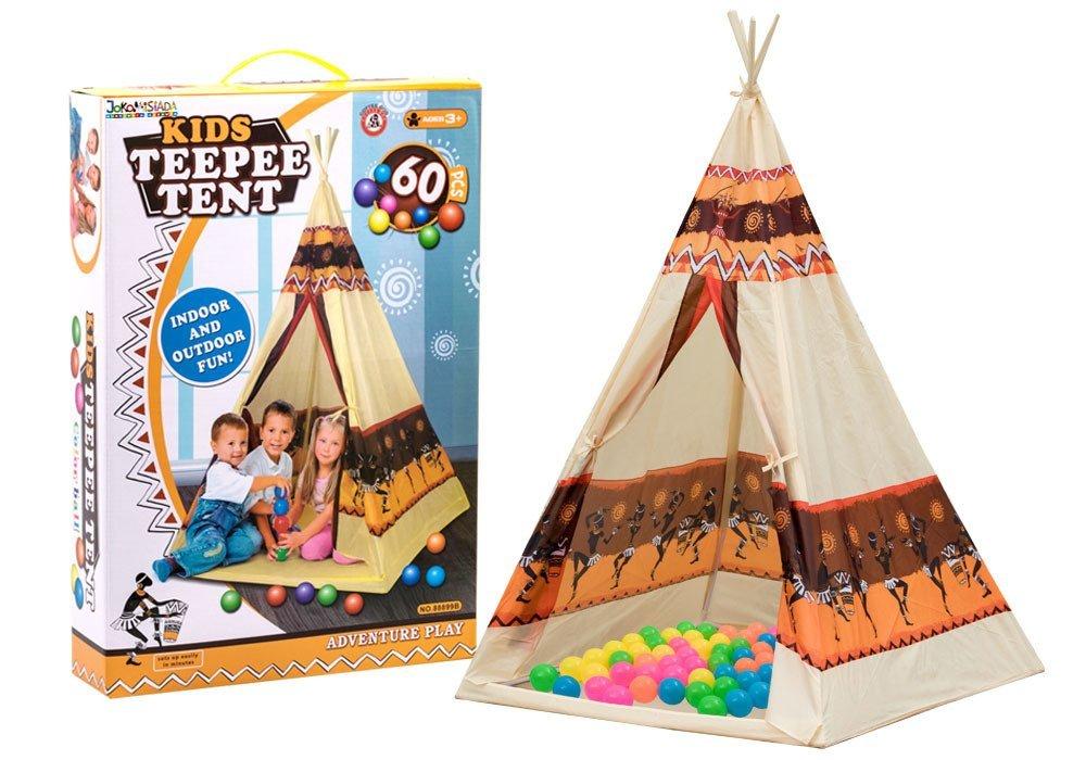Tipi WIGWAM tent + 60 ZA2160 color balls ...  sc 1 st  Jokomisiada & Tipi WIGWAM tent + 60 ZA2160 color balls | toys \ outdoor toys toys ...