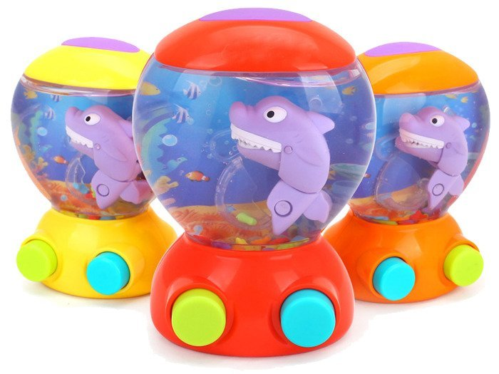 Water Game Toy : Water world game with a fish shark for fishing za