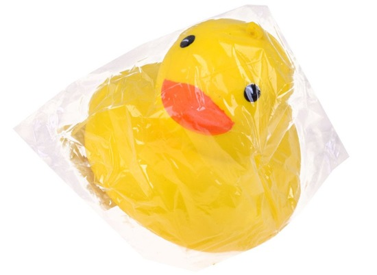 Foam Gniotek Toy YELLOW DUCK ZA2627
