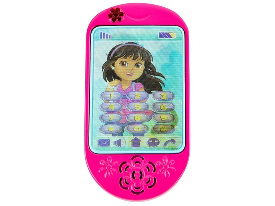 A phone for a toddler Dora smartphone ZA2724