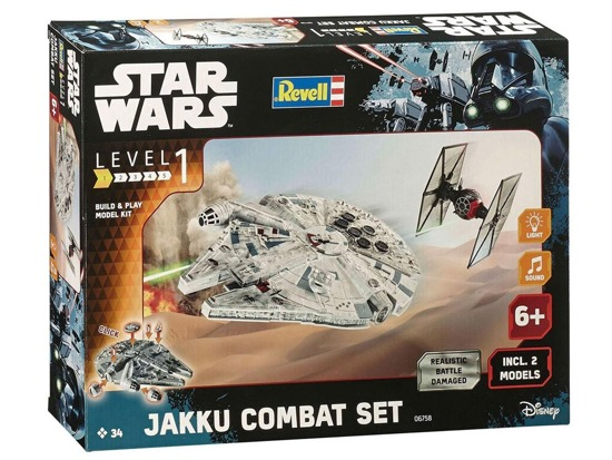 Revell Star Wars Jakku Combat Set - Build & Play RV0007