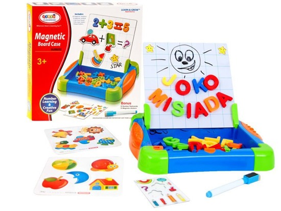 Magnetic board with numbers and pictures TA0051