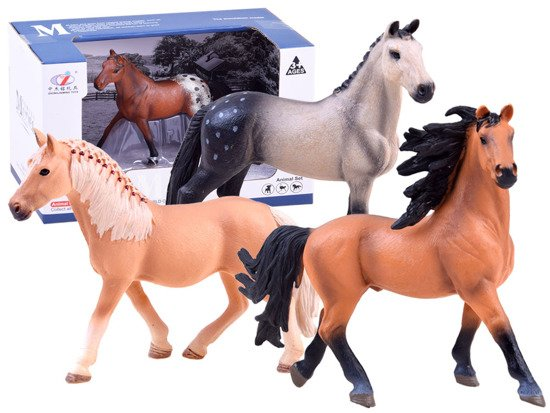 Animals of the world painted figurine of the ZA2992 pony