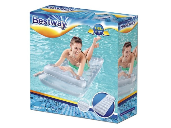 Bestway Inflatable beach mattress Metal Tech Lounge 188x71 43024