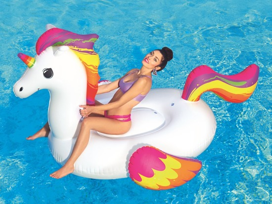 Bestway large Unicorn inflatable for swimming 41113