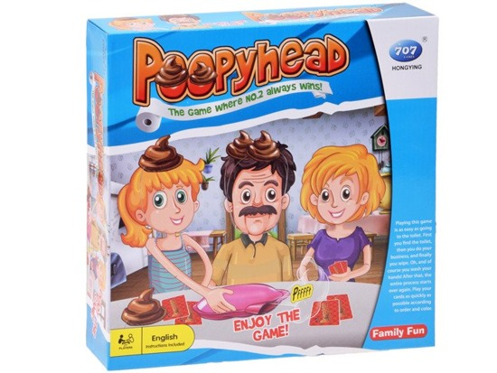 Cheerful Game Poopyhead pillow the farthing GR0314